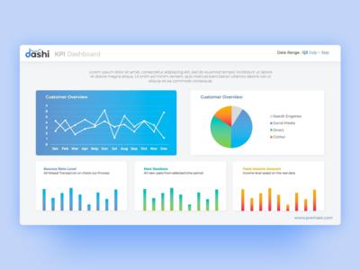 Dashi Dashboard PowerPoint Template
