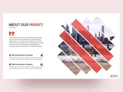 Simplex Business Plan PowerPoint Template