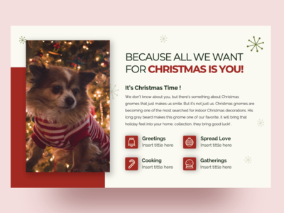 Free Christmas PPT Template + Free Social media Pack !