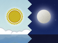 Day & Night backgrounds