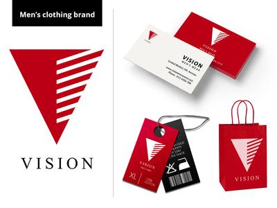 Vision Brand Identity design by Mercuryspiders