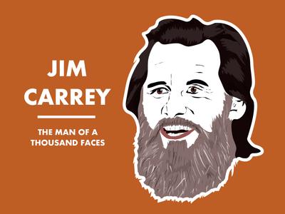 Jim Carrey Illustration