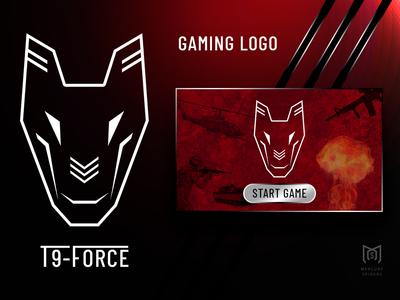 Gaming Logo T9 Force