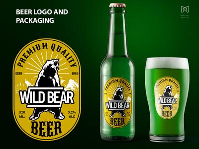 Beer Logo And Packaging Design.