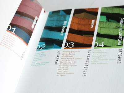 Bedankt Book Design   Table of Contents typography design architecture indesign book layout design publication design graphic design bookdesign