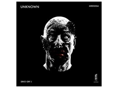 Album Art - Monolith Records/Sirio Gry J face creepy album cover dark music graphicdesign digital coverart