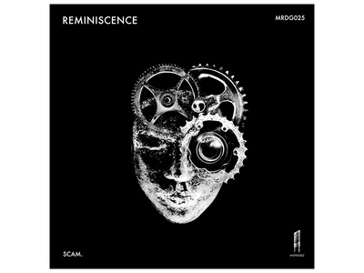 Album Art - Monolith Records/Scam. grunge industrial raw mind face gears design albumart coverart album cover memory