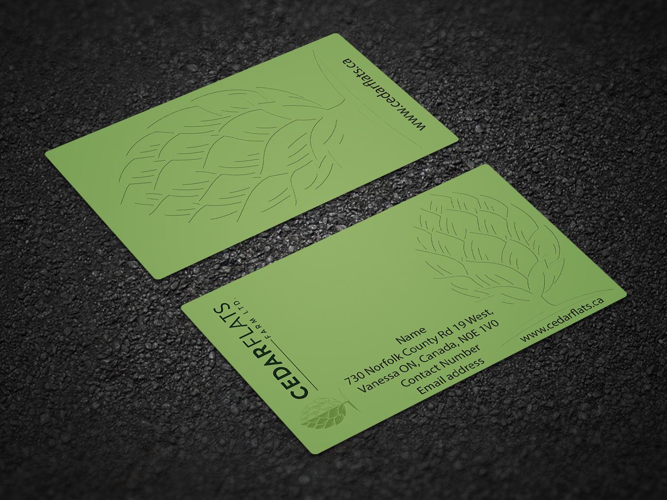 Business card card bussines card illustrator