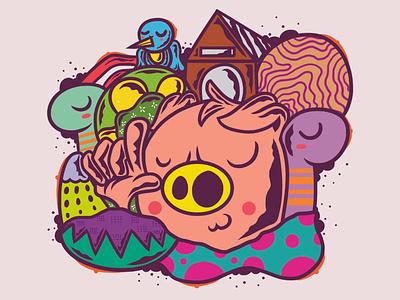 kecaw cover design vector album art chara artw art album merc illustration