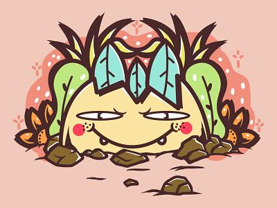 Eggtone cover design vector album art chara artw art album merc illustration