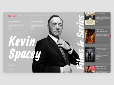 Kevin Spacey | NETFLIX concept
