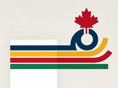 In Good Company canadian blanket illustration stripes hudsons bay company