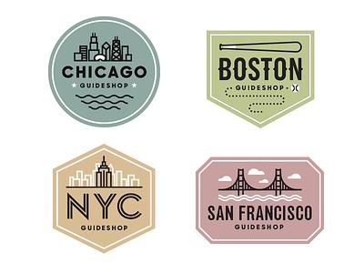 Bonobos Badges badges illustrations icons