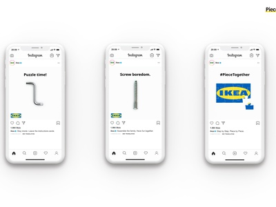 IKEA // Piece Together advertising