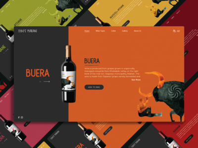 Wine Store Concept UI