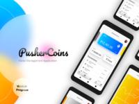 PusherCoins