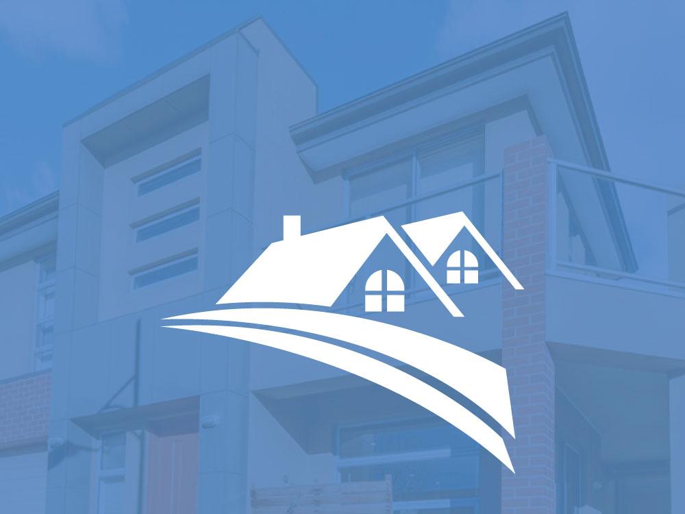 real estate logo design branding icon design logo vector