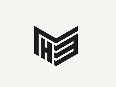 M3H Logo initial monogram illustration vector flat icon graphic design logo design branding