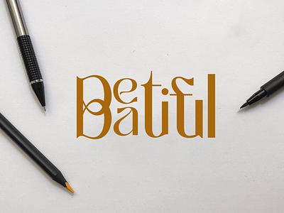 Beautiful beautiful illustration flat vector icon graphic design logo design branding