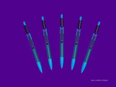 For designers. Senator pen mockup. Centrix branding illustration logoped symbol mark logotype logo design russia