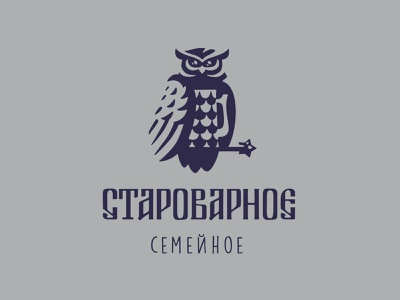 Starovarnoe branding logos simbol mark logotype design logo russia wings wing starkov star feather feathers beer branding beer label beer mug owl logo owl