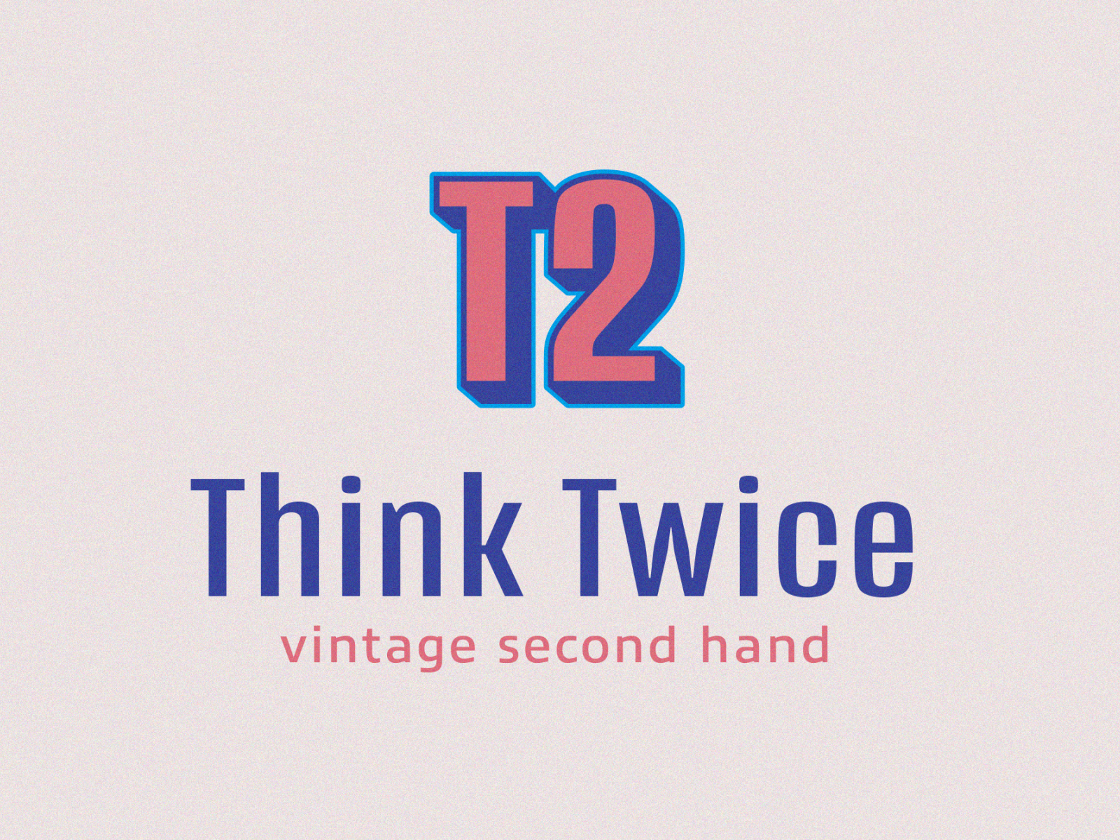 Think Twice Logo By Karolien Brughmans On Dribbble