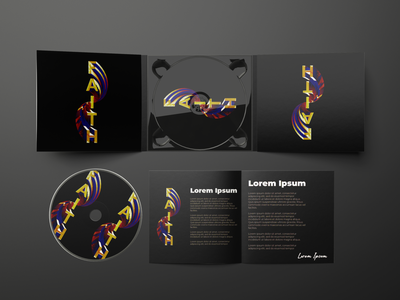 FAITH Album Art album cover design photoshop album art album branding design