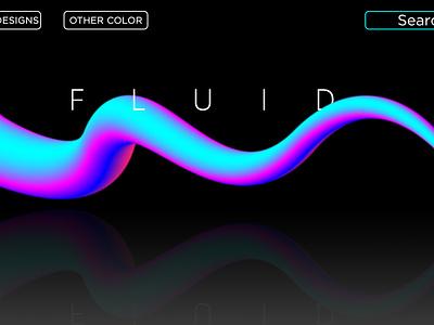 Fluidic Design in Illustrator animation web branding vector illustration design
