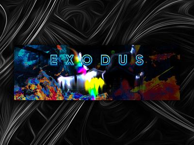 Exodus website isometric web illustration animation branding design