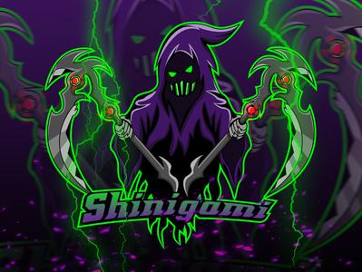 Esport Logo Shinigami