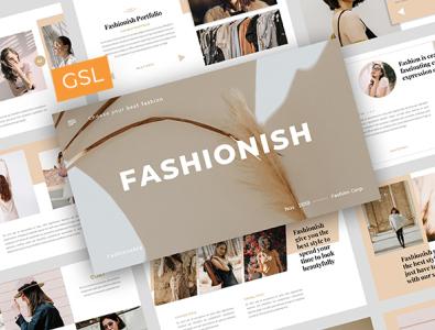 Fashionish - Style Googleslide Template