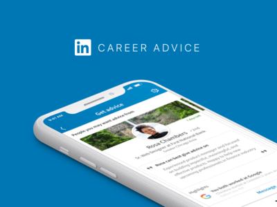 LinkedIn Career Advice linkedin