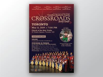 Crossroads Tour poster