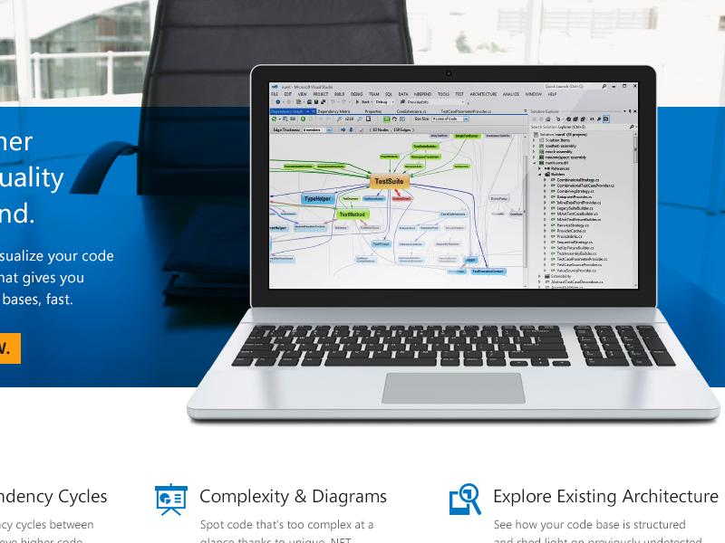 Something's cooking laptop product page slider app .net developer development programming icons metro ui atomic duo