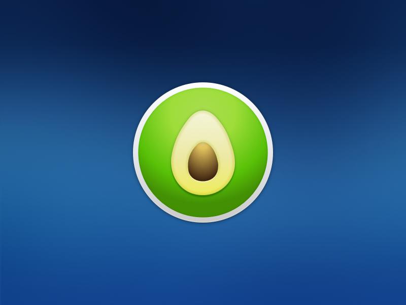 Hello Avocode mac yosemite app icon avocode sketch green practice
