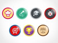 Lunde_Achievement Badges, round 2