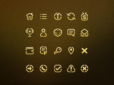 Math game icons