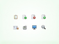 Menubar UI icons