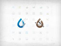eNVEL & ISSOP app icons