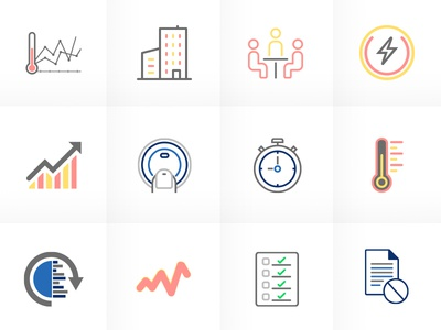 Semantic multicolor icons