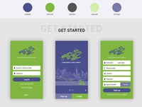 Your Green Ride - Mobile application