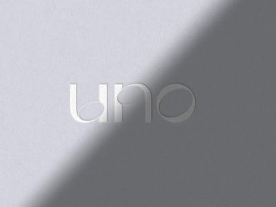 UNO - Gaia Display type norakaszanyi graphicdesign debossed font design font feminine typeface gaiadisplay gaia logotype logo design typography art typography typo