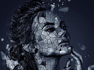 Mosaic Photoshop Action