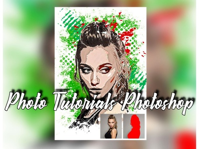 How To In Photoshop Tutorials typography professional free photoshop drawing photoshop action illustration effect abstract art artistic logo