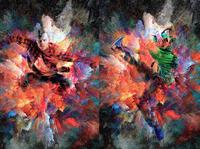 Explosion Paint Photoshop Action