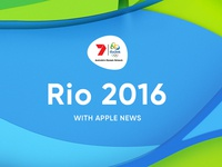 Rio 2016 with Apple News