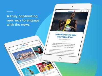 Rio 2016 with Apple News