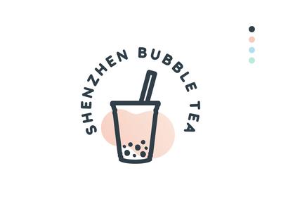 Shenzhen Bubble Tea - Logo Challenge logo design shenzhen bubble tea logocore logo challenge branding