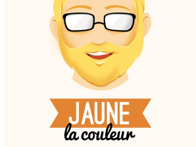 Jaune yellow color