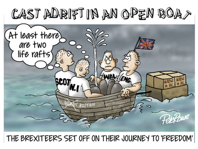 Cartton about Brexit